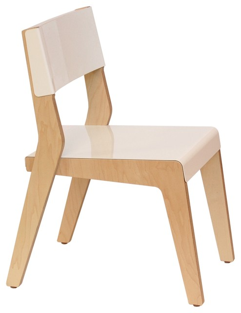Wonderful Housefish Lock Dining Chairs, Maple With White Seat, Set Of 2