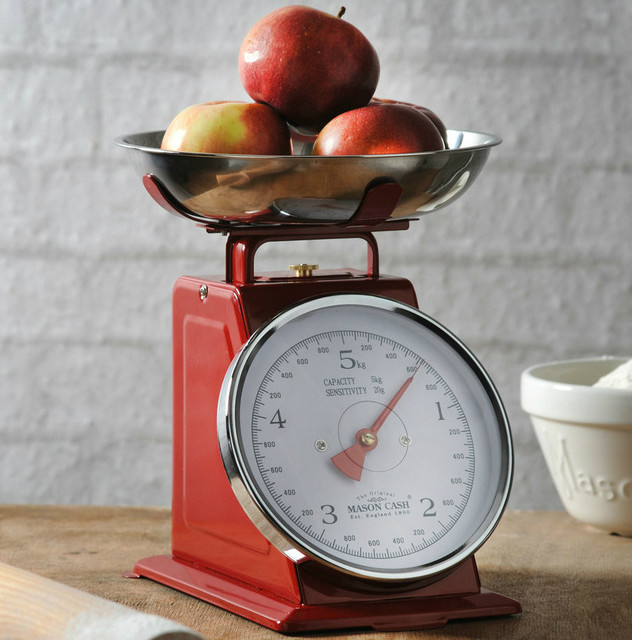 Retro baking accessories traditional kitchen scales for Traditional kitchen scales