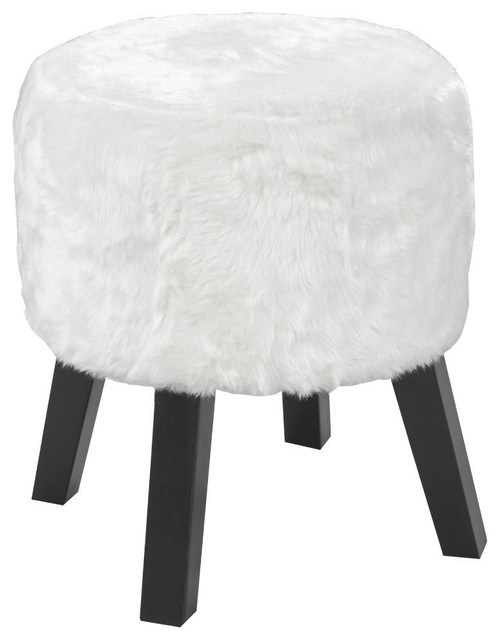Candace u0026 Basil Round Foot Stool White contemporary-footstools-and-ottomans  sc 1 st  Houzz & Candace u0026 Basil Round Foot Stool White - Contemporary ... islam-shia.org