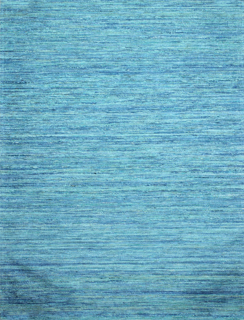 Laken Handwoven Area Rug, Blue And Turquoise, 8&x27;x10&x27;.