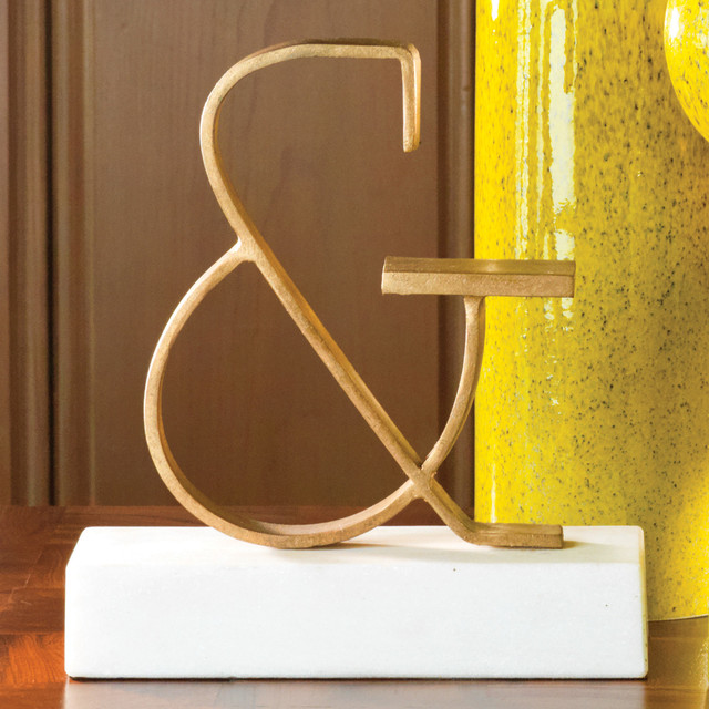 Global views decor ampersand modern paintings by for Ampersand decor