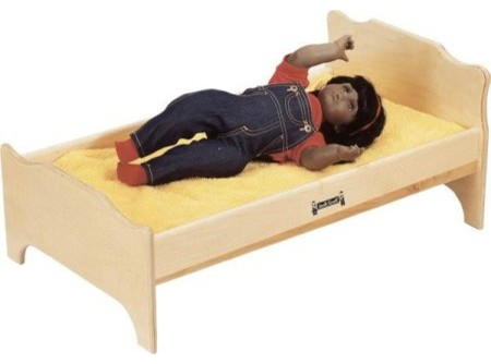 Jonti craft doll bed kids toys and games by jonti craft for Kids craft bed