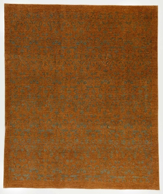 Brown Overdyed Rug, 7&x27;11x9&x27;6.
