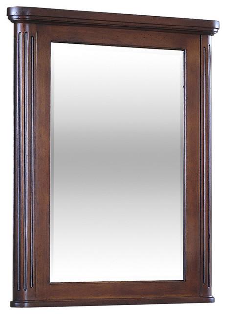 Bancroft Mirror, Distressed Cherry.