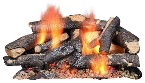 """18"""" Baypoint Glofire Gas Logs, Logs Only"""