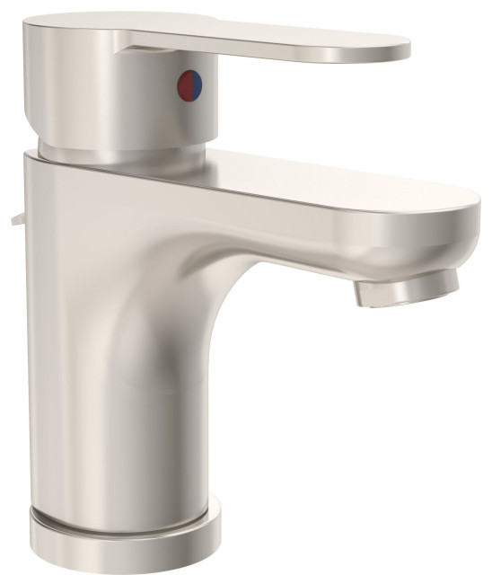 Symmons SLS-6712-1.0 Identity 1.0 GPM 1 Hole Bathroom Faucet - Nickel