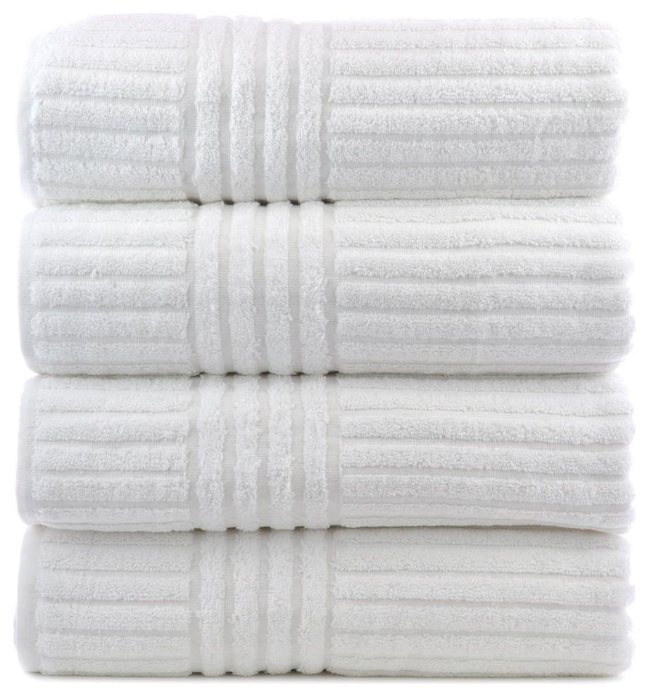 Bath Hand Towel Large Set of 3 Spa Turkish Cotton Luxury Hotel