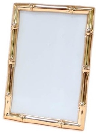 """Rose Gold Faux Bamboo Frame, 4""""x6"""""""