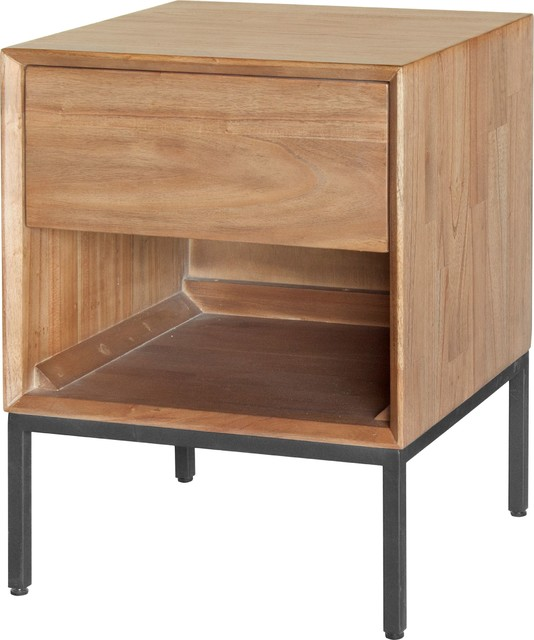 Hathaway Night Stand, Newton Brown by New Pacific Direct Inc.