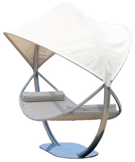 Steel Hammock Stand With Hammock And Canopy Contemporary