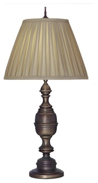 Stiffel Antique Old Bronze Table Lamp