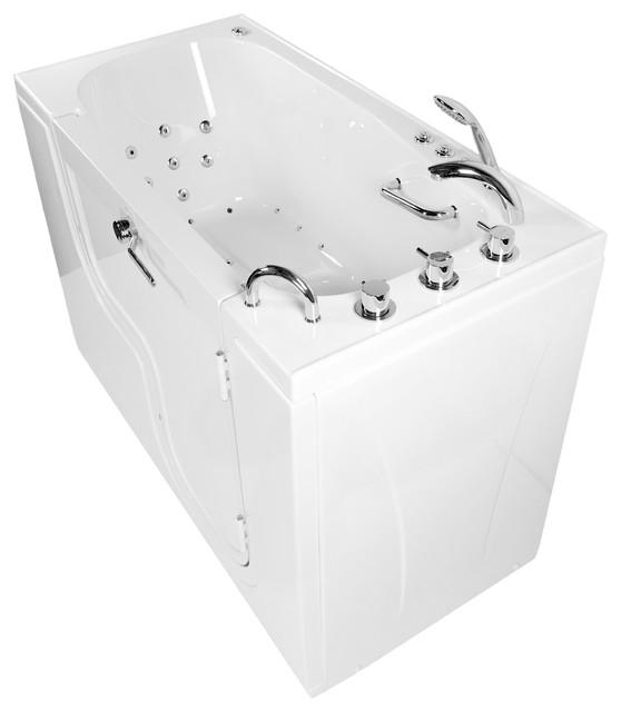 Transfer 60 Acrylic Soaking Walk-In Bathtub Right Outward Swing Door by Ella