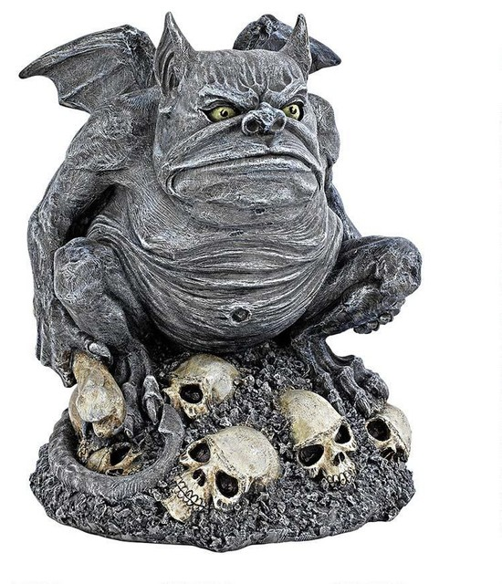 Design toscano gothic medieval gargoyle statue sculpture for Gargoyle decor