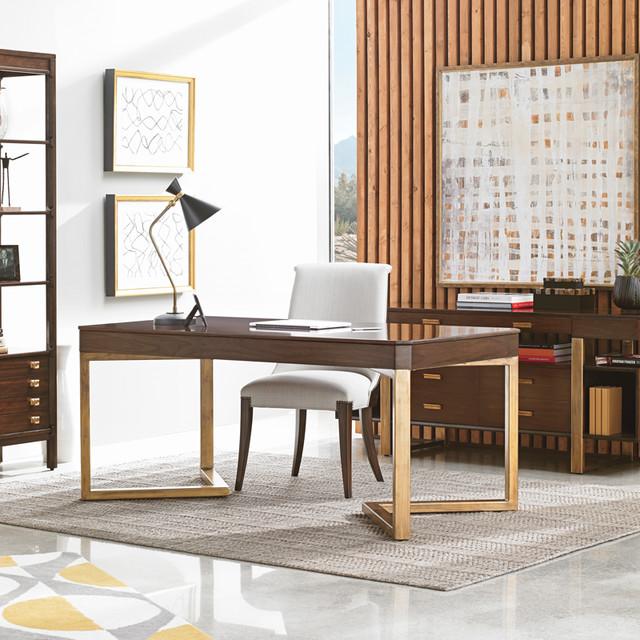 Home design - transitional home design idea in New York