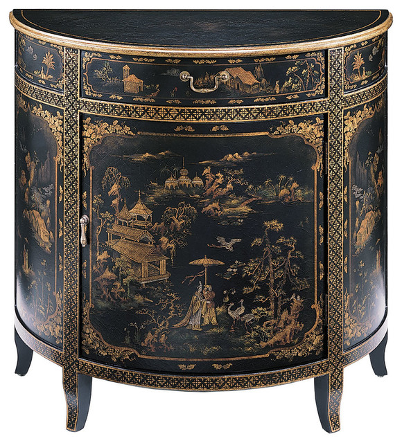 Etonnant Hand Painted Oriental Cabinet   Asian   Accent Chests And Cabinets   By  Inviting Home Inc