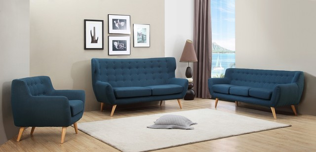 Sixties Scandinavian Sofa Set amp Armchair