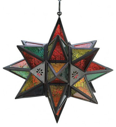 All Ju0027s Gifts And Treasures   Moroccan Style Star Lantern   Pendant Lighting