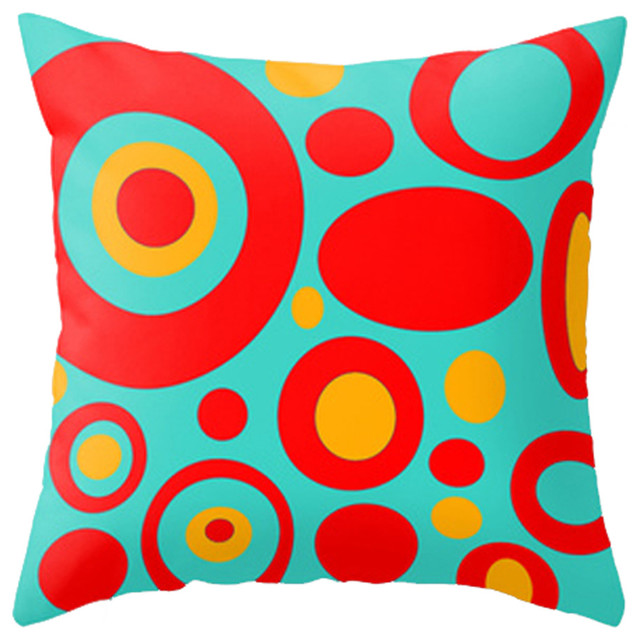 Throw Pillow, Dale - Contemporary - Decorative Pillows - by Crash Pad Designs