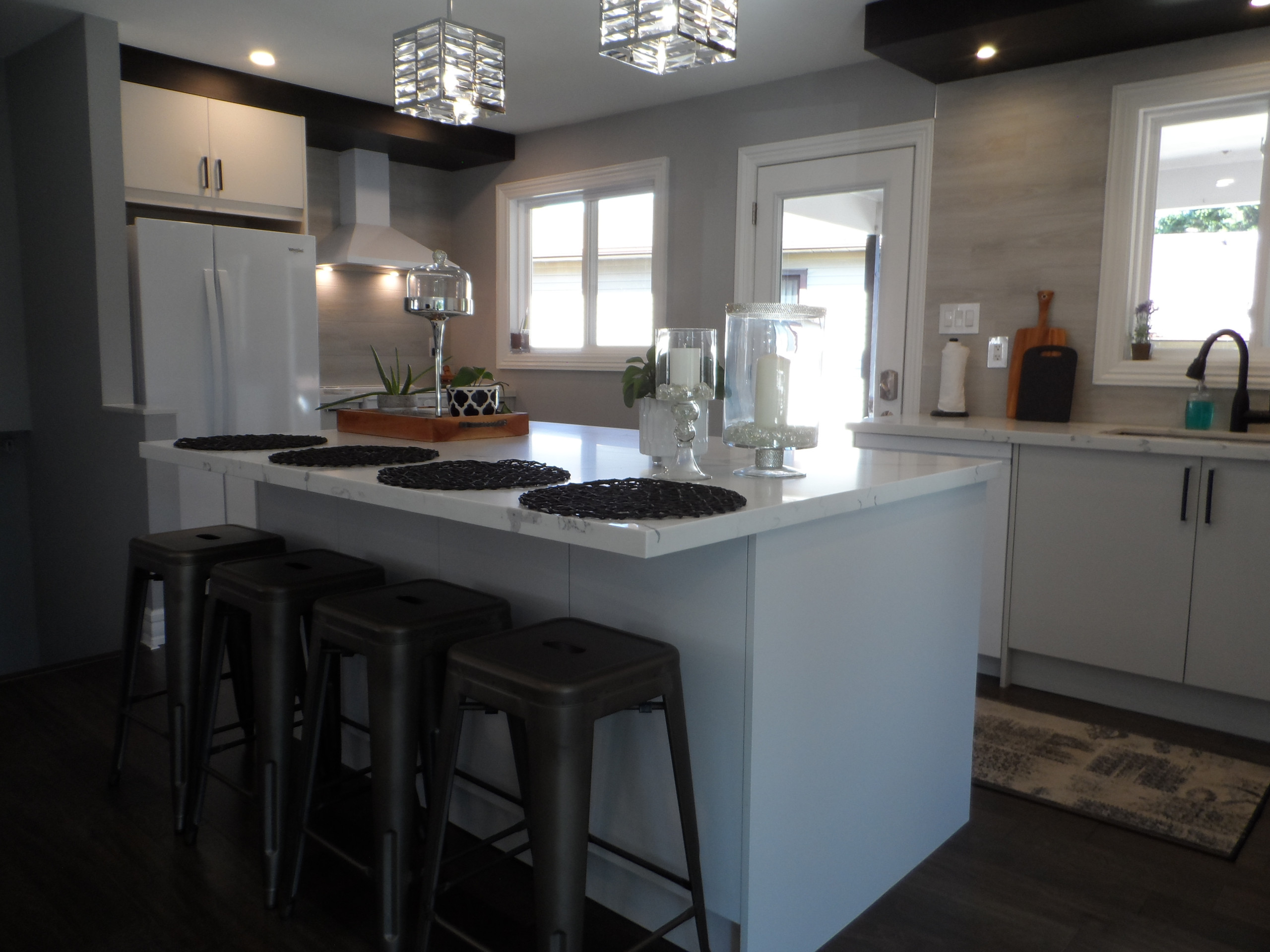 Georgetown Kitchen project with wall removal