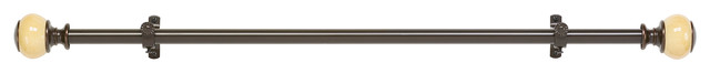 Curl Curtain Rod, 35""