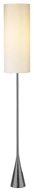 Adesso Bella Floor Lamp, Black Nickel, 4029-01.