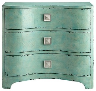Crackle Bombe Chest, Blue
