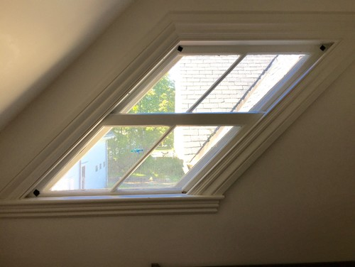 Parallelogram Window Treatment Dilemma