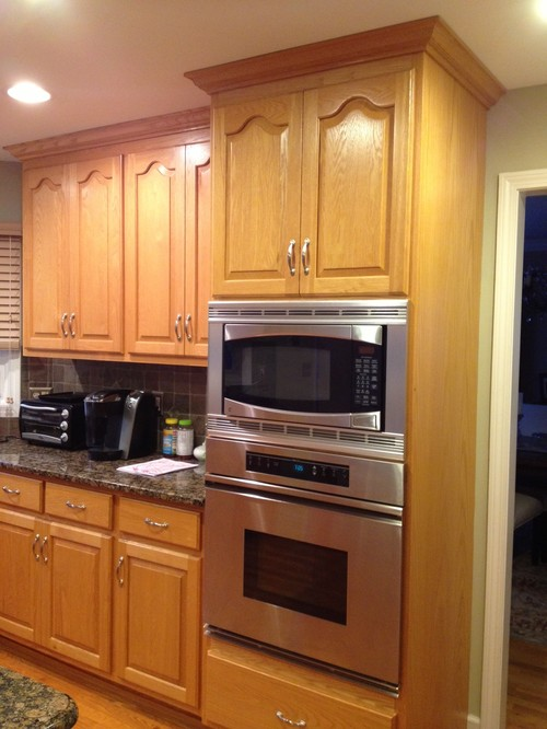 Painting Oak Kitchen Cabinets White Painting Oak Kitchen Cabinets