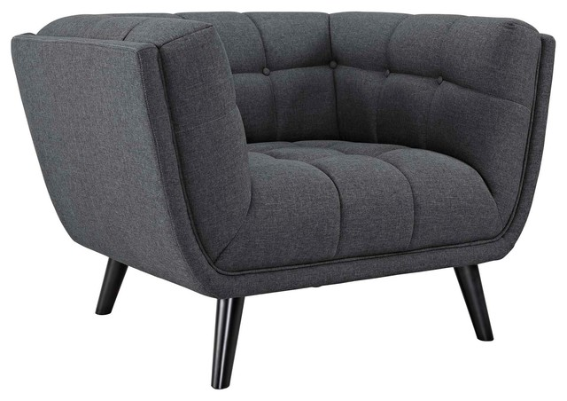 Bestow Upholstered Fabric Armchair.