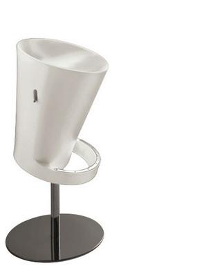 Strange Olivia Air Stool White Bralicious Painted Fabric Chair Ideas Braliciousco