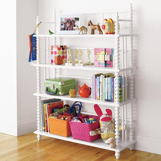 Guest picks bookshelves for kids 39 rooms for Book shelf for kids room