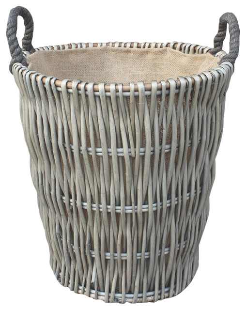 Red Hamper Extra Large Rope Handle