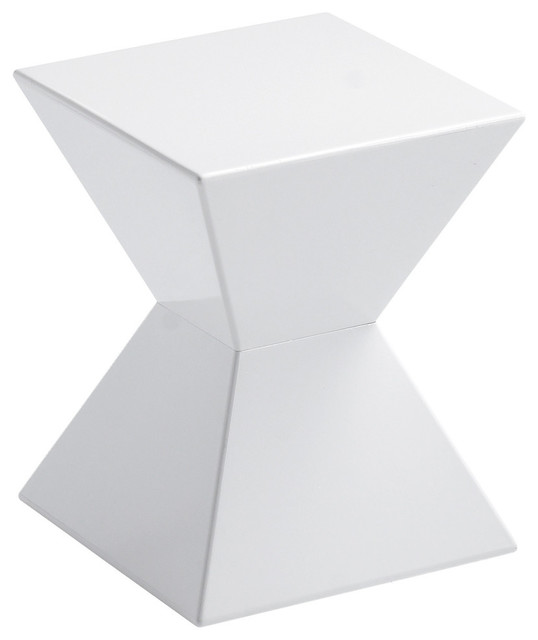 Rocco End Table, White