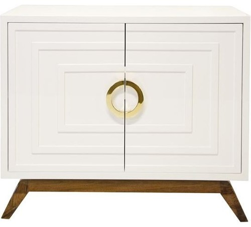 White Apollo Cabinet