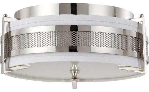 Nuvo Lighting 60/4446 Diesel 3 Light Medium Flush Mount Ceiling Fixture.
