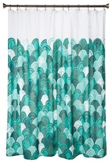 Danica Studio Emerald City Shower Curtain