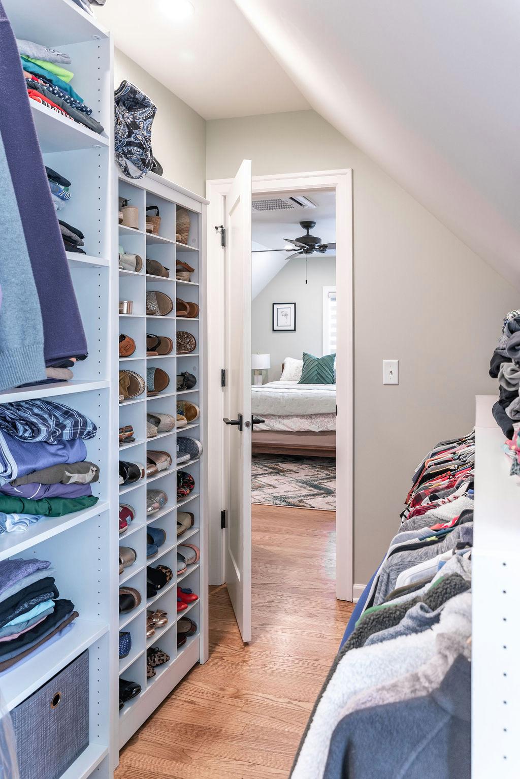 Master Bedroom Attic Space
