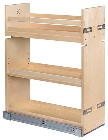 """Signature Base Cabinet Pullout, Solid Maple, 8.5""""x21""""x26.25"""""""