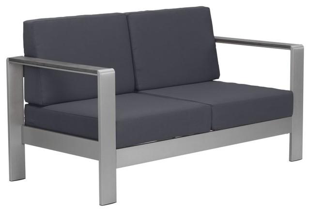 Zuo Modern 703849 Cosmopolitan 49 Sofa Cushion Dark Gray