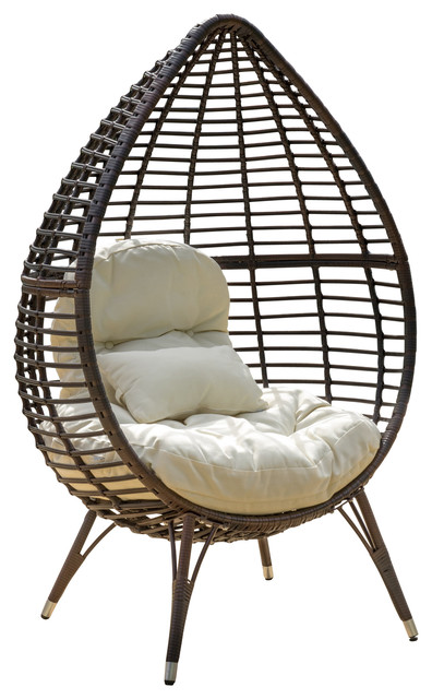 Shop Houzz Gdfstudio Dermot Multibrown Wicker Lounge