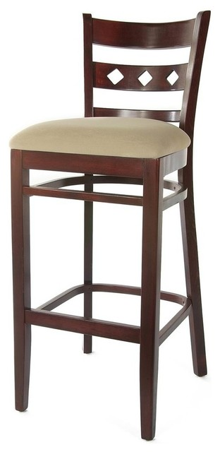Diamond Back Bar Stool Transitional Bar Stools And