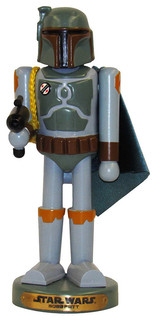 "10"" Star Wars Boba Fett Nutcracker"