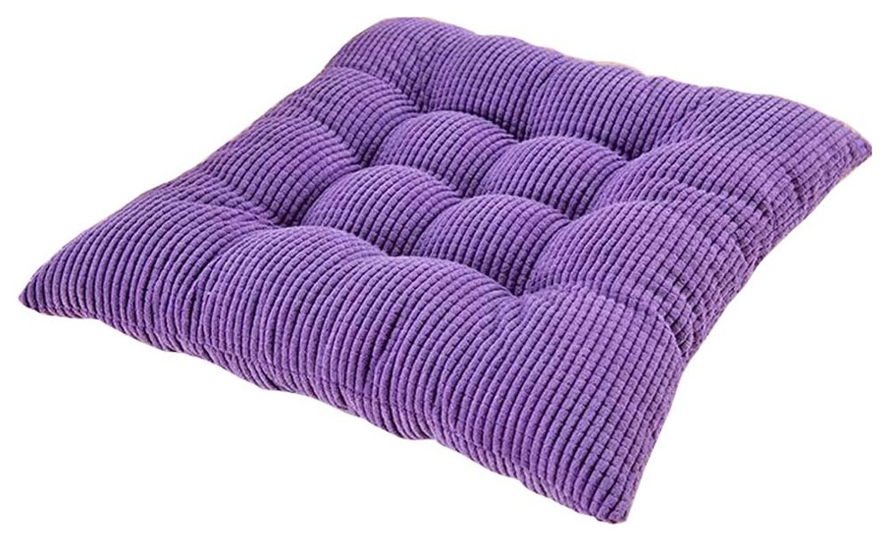 Corduroy Square Chair Cushion Pads