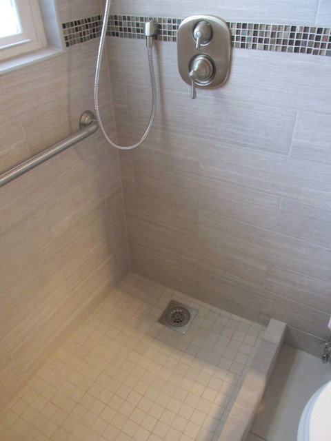 Bathroom Remodeling Denver Style small bathroom remodel & tub replacement - contemporary - denver