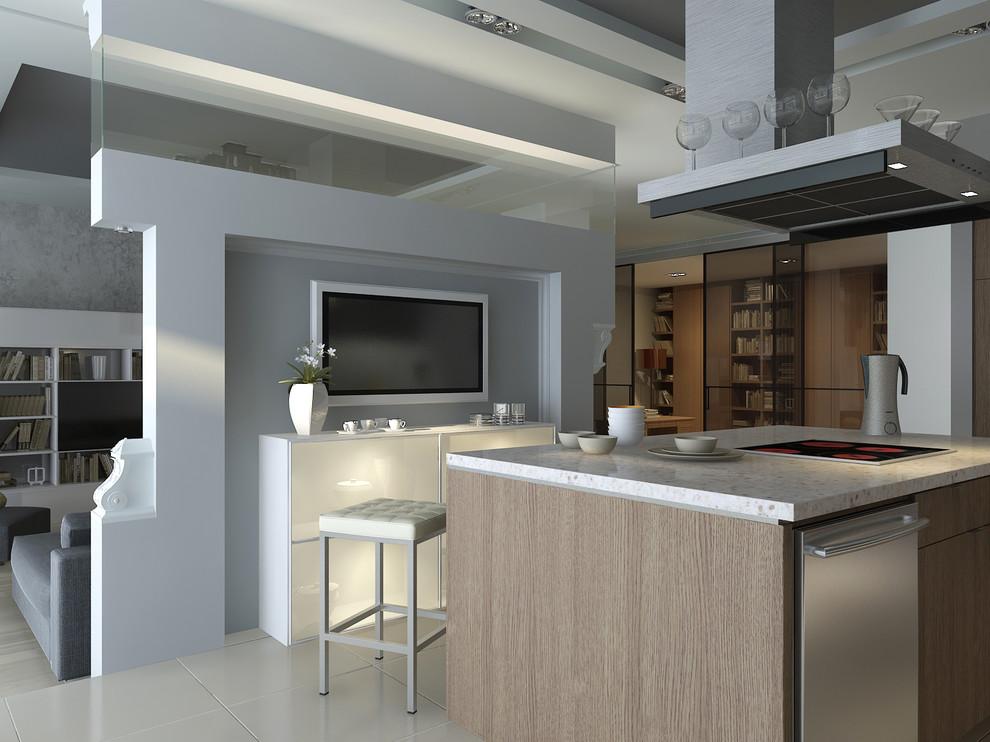 Ulofa Palme apartment 300m, 3d project