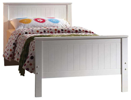 Bungalow Bed, White, Twin.