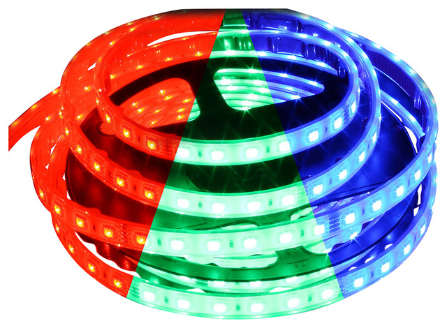 Waterproof Color Changing RGB 5050 72W LED Strip - Contemporary - Undercabinet Lighting - by ...