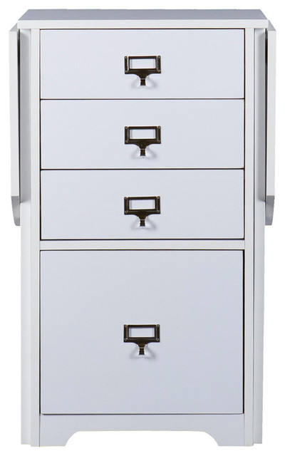 Jolene Fold-Out Organizer and Craft Desk - Contemporary - Filing Cabinets - by SEI