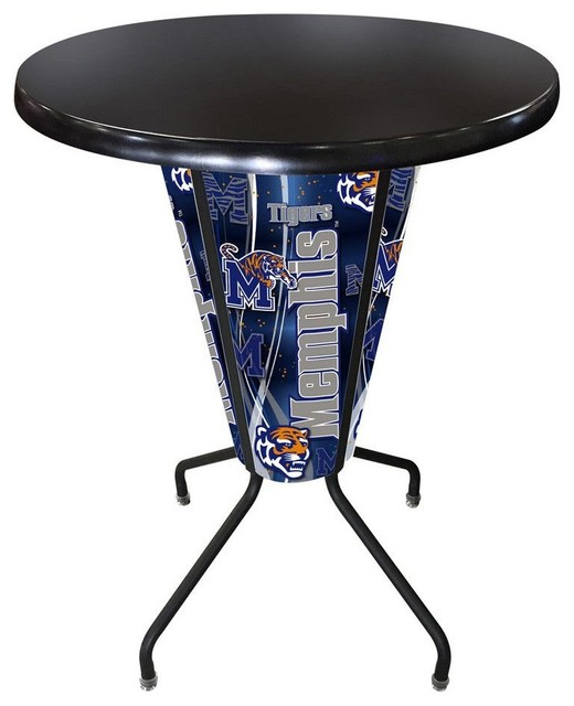 Memphis Tigers Lighted Indoor Outdoor Table Traditional