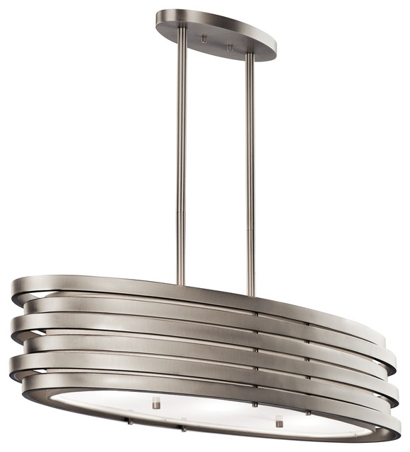 Roswell Oval Island Pendant Lamp